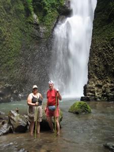 Cataratas Los Chorros waterfalls